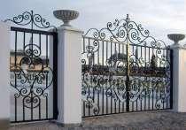 Изготовление и продажа кованых ворот и калиток, в Санкт-Петербурге