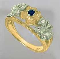 Кольцо из золота с сапфиром и бриллиантами, новое, в Санкт-Петербурге