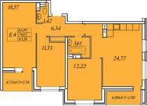 Квартира в жк Иван да Марья, в Краснодаре
