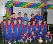 Занятия футболом, в Москве