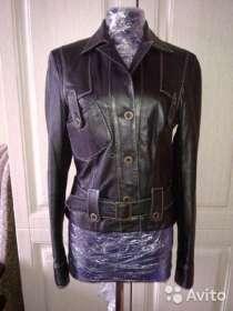 Куртка новая натуральная кожа, в Новосибирске