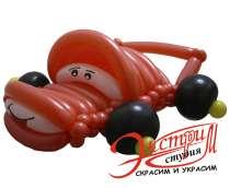 Фигуры из шаров, в Саратове
