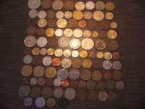 100 иностранных монет без повторов, в Москве