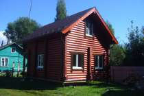 Строим дома из дерева, в Москве