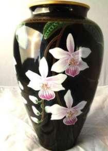 Franklin Mint. Makoto Miyagi. Элегантная ваза.28 cm.1987год, в г.Франкфурт-на-Майне