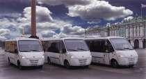 Пассажирские перевозки, микроавтобусы, автобусы, в Санкт-Петербурге