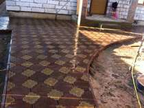 Тротуарная плитка, в Дубне