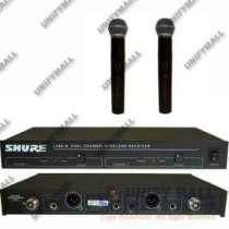 микрофон SHURE LX88-II радиосистема 2МИК, в Москве