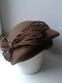 Продам шляпу женскую фетровую, размер 58, в Рязани