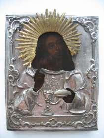 Икона. Господь Иисус Христос с хлебом и вином, в Владимире