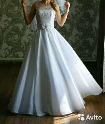 Нежное свадебное платье, в Краснодаре