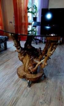 Изготовлю на заказ столики из натурального дерева ручной раб, в г.Алматы