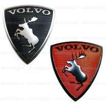 Эмблема лось Вольво, в Москве
