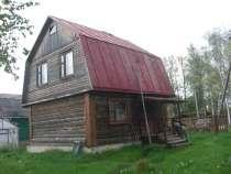 Продается бревенчатый дом с подполом, баня, участок 9 соток, в Обнинске