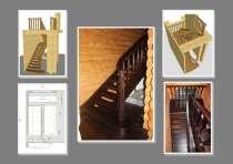 Лестницы из дерева, модульные, винтовые, в Домодедове