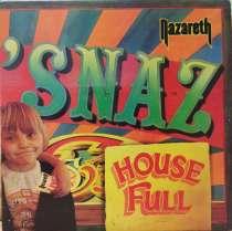 "пластинка NAZARETH "" 'Snaz "" 1981 Germany, в Москве"