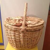 Корзины, баки и многое другое плетенное из лозы, в г.Кокшетау