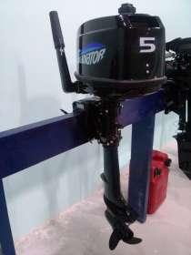 Лодочный мотор Гладиатор 5 л. с. 2Т, новый, 2016 г, в Саратове