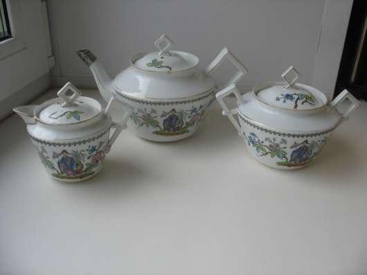 Старинный чайный сервиз. Восточная тема. Кузнецов в Москве Фото 2