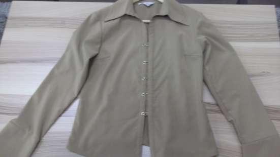 Блузка бежевого цвета, р. L