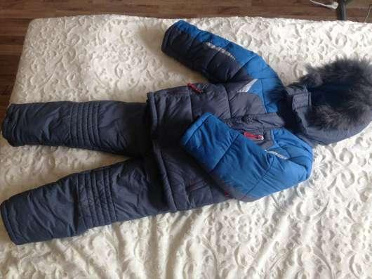 Зимний очень теплый комбинезон, на 3-5 лет в Челябинске Фото 2