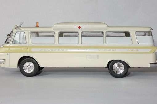 автомобиль на службе №49 Зил-118А Скорая медицинская помощь в Липецке Фото 3