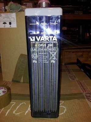 Продам Стационарные аккумуляторы Varta OPzS новые