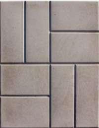 Тротуарная плитка серая 400*400 мм