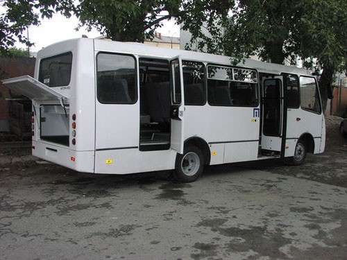 Автобусы Isuzu-Атаман пригородные