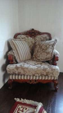 Мягкая мебель из натурального дерева в Ростове-на-Дону Фото 1