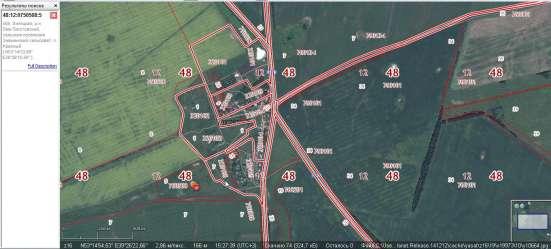 Участок С / Х назначения (единый массив) Лев-Толстой в Липецке Фото 1
