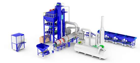 Асфальто-бетонные заводы от 5т/ч. Бетононасосы