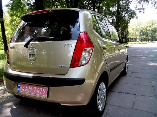 Продажа авто, Hyundai, i10, Автомат с пробегом 85000 км, в г.Запорожье Фото 3