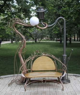 креативные скамейки и лавочки