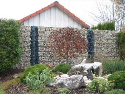 Забор из габиона в Омске Фото 4