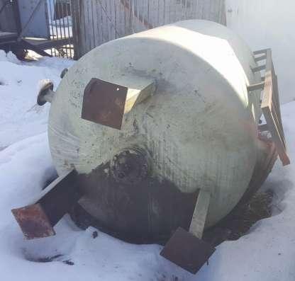 Емкость стальная, объем 3,5 куб.м., вертикального исполнения в Москве Фото 1