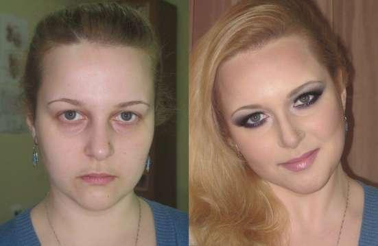 Окрашивание, мелирование, макияж в салоне красоты Нимфея в Челябинске Фото 4
