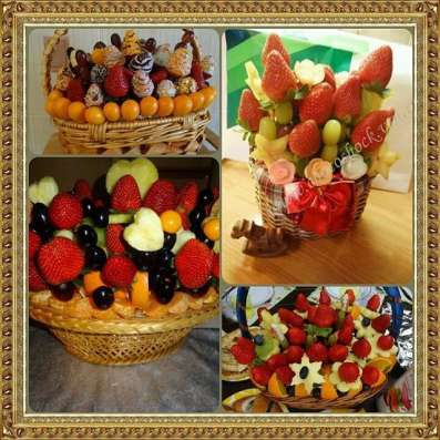 Клубника в шоколаде, фруктовые фантазии