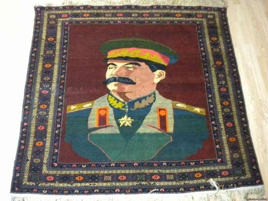 Ковер портрет Генераллиссимус Сталин в Краснодаре Фото 1