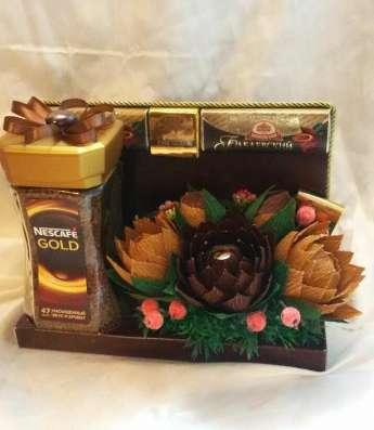 Кофе+чай+шоколад в подарок