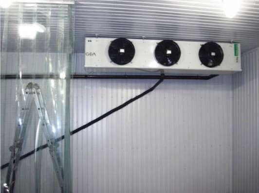 Монтаж холодильных камер для хранения яблок в Крыму. в г. Симферополь Фото 4