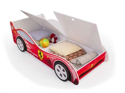 Кроватки-машинки детские с ящиками