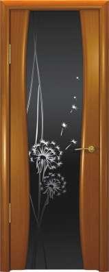 Дверь межкомнатная Буревестник-2 Одуванчик, шпон Анегри