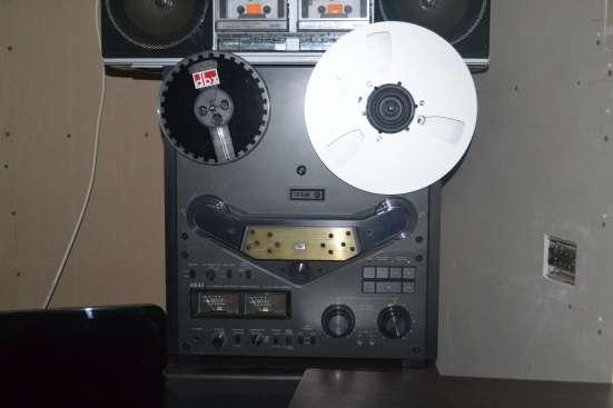 Akai GX 635D(черный) катушечная дэка