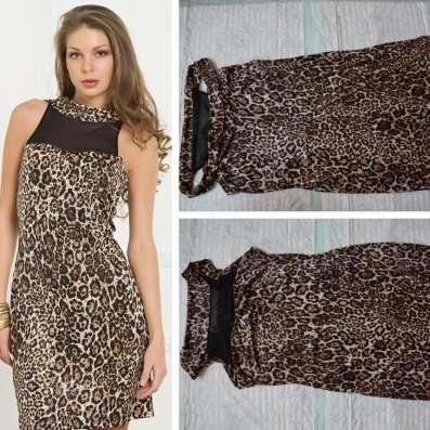 Новое платье (леопардовый принт)