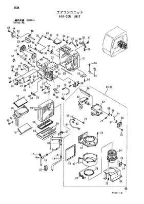 Радиатор отопителя кабины