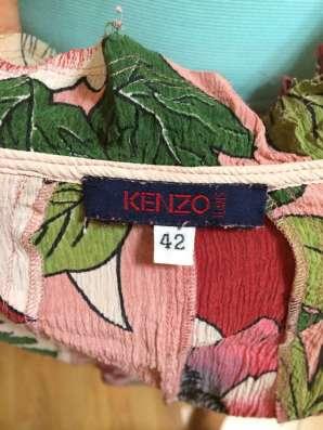Продам блузку KENZO в Москве Фото 1