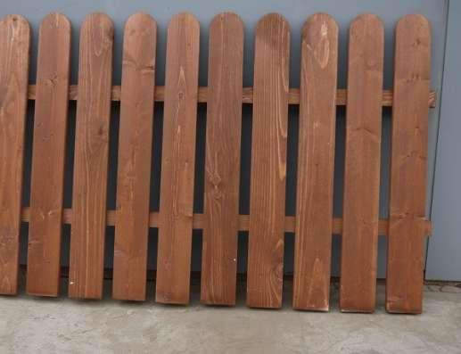 Деревянные декоративные заборы