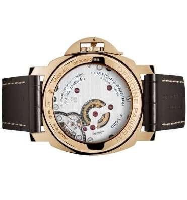 Оригинальные часы Officine Panerai Luminor Marina Oro Rosso