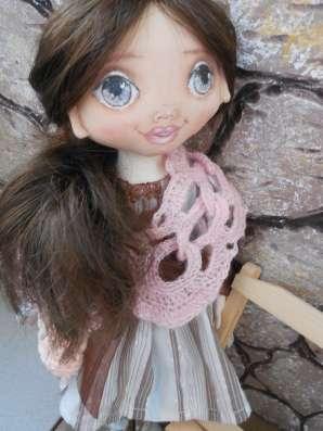 Кукла текстильная ручной работы Лёка!
